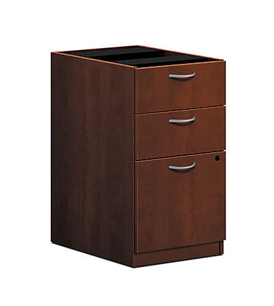 basyx-BLSeries Pedestal File Brown Front Side View HBL2162.A1A1