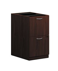 basyx-BLSeries Pedestal File Dark Brown Front Side View HBL2163.NN