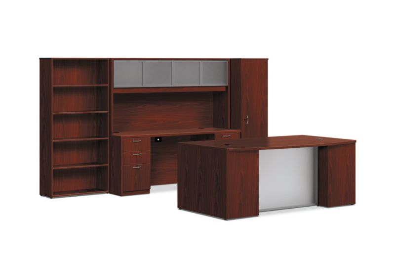 BL Series Office Suite with Wardrobe HBLOSWDRB7242 | HON Office ...