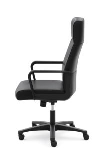 basyx HVL604 Series High-Back Executive Chair Side View HVL604.ES10
