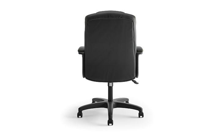 basyx High Back Executive Executive High-Back Chair Black Back View HVL131.EN11