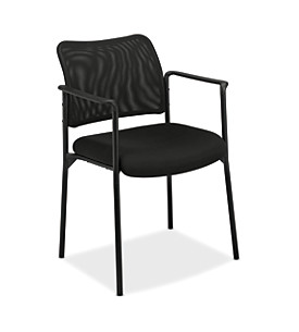 Mesh Back Stacking Guest Chair