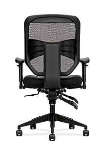 basyx HVL530 Series Mesh Task Chair Black View HVL532.MM10