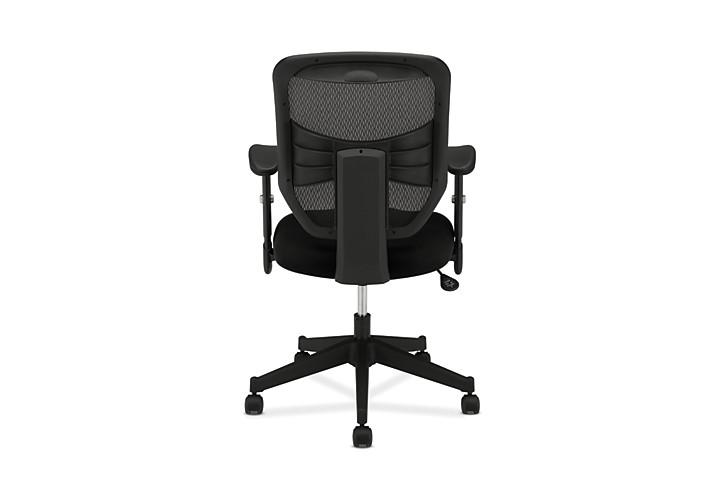 basyx HVL531 Series Mesh Back Task Chair Black View HVL531.MM10