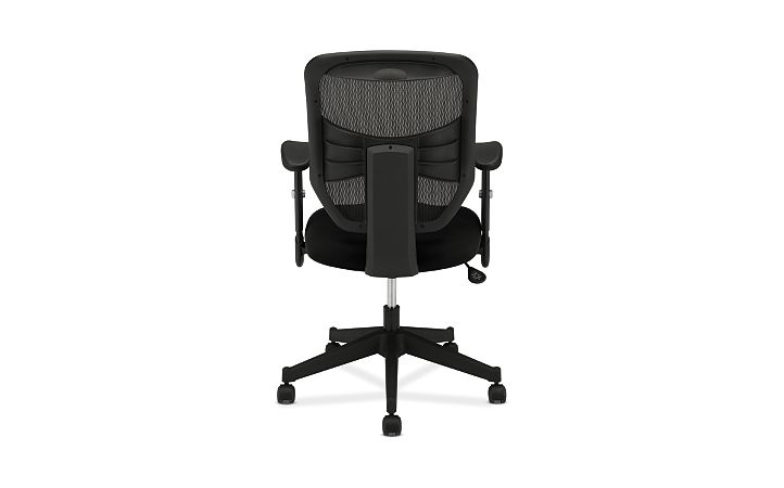 basyx HVL531 Series Mesh Back Task Chair Black View HVL531.MM10