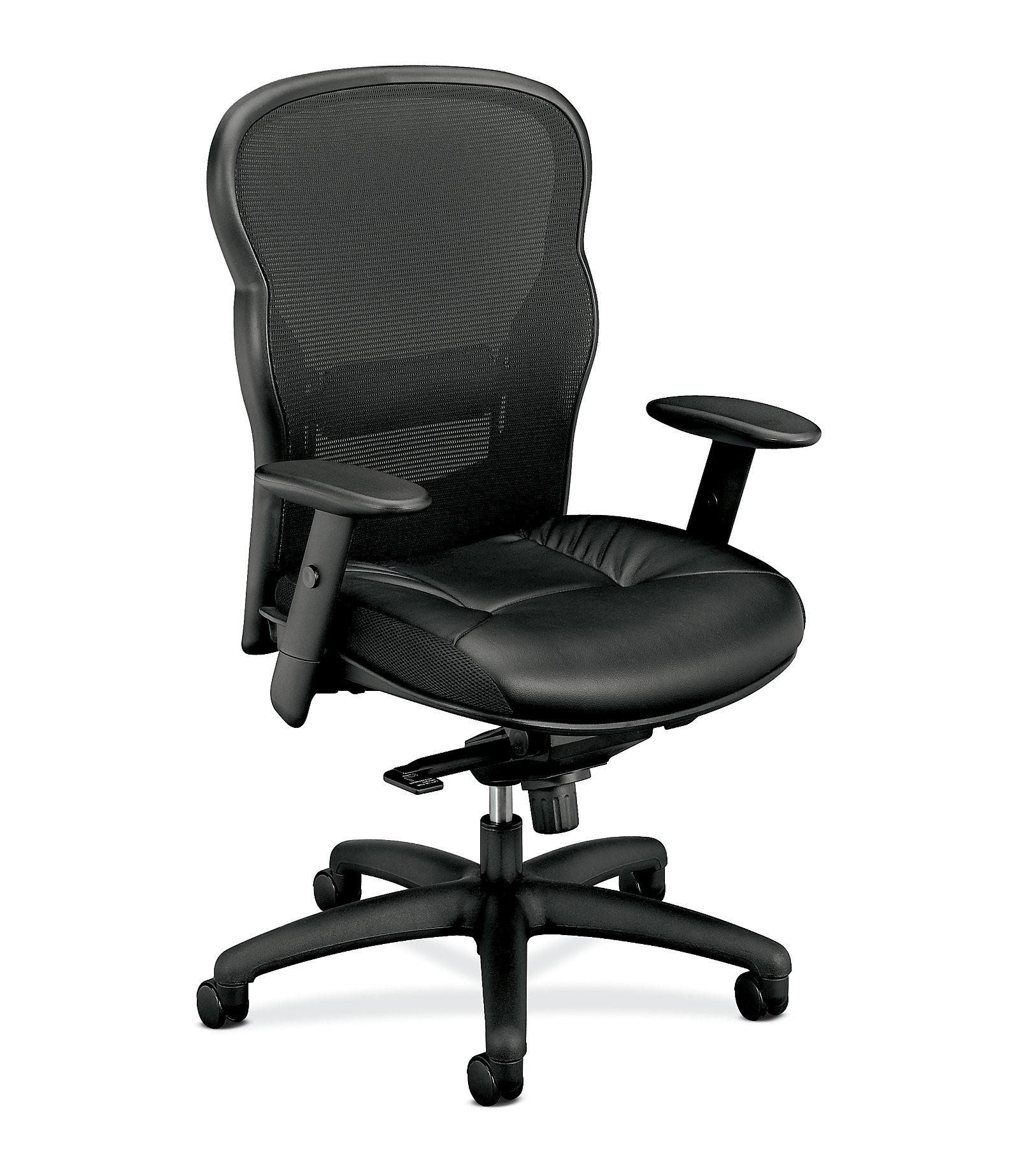 basyx by hon executive mesh high back chair hvl701 hon office