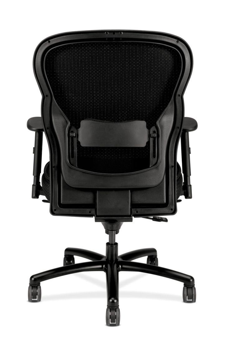 basyx HVL700 Series Mesh Big and Tall Executive Chair Black View HVL705.VM10