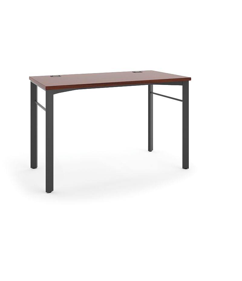 "basyx Manage Table Desk that is 48""W x 24""D Brown HMNG48WKSL.C1.A1"