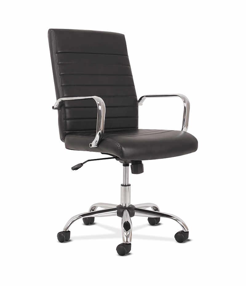 Sadie Chairs Sadie Executive High-Back Chair HVST511   HON ... Black Office Chair Back View