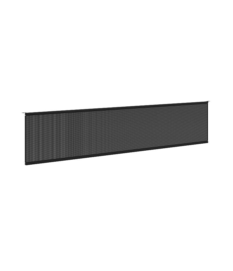 """basyx Modesty Panel for 72""""W Worksurface HBMPT72MOD.X"""