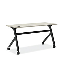 basyx Multi Purpose Flip Base Table White HBMPT6024P.QZ
