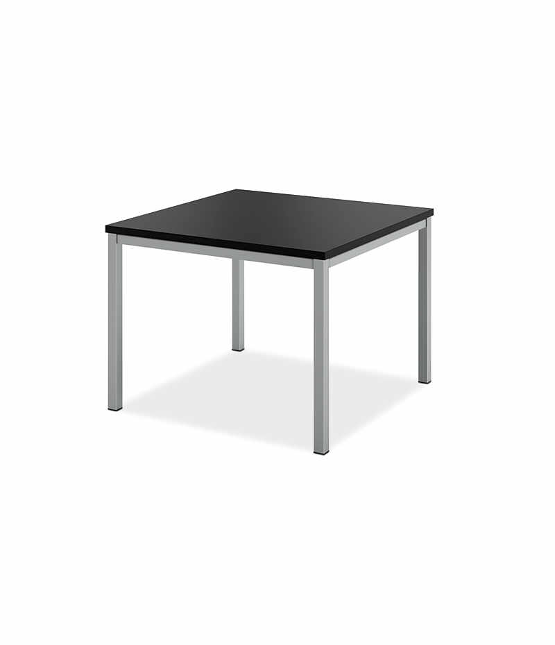 Basyx Occasional Metal Leg Corner Table Black HML8851.P