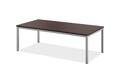basyx Occasional Metal Leg Coffee Table Brown HML8852.C1