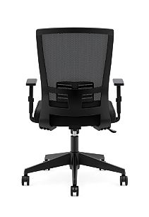 basyx Task Seating Mesh High-Back Task Chair Black View HVL541.LH10