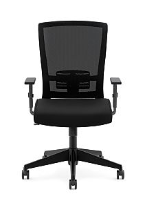 basyx Task Seating Mesh High-Back Task Chair Front Side View HVL541.LH10