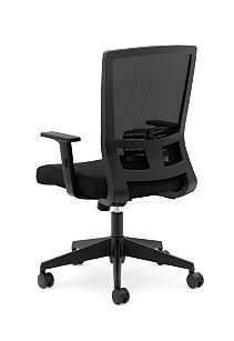 basyx Task Seating Mesh High-Back Task Chair Back Side View HVL541.LH10