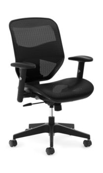 prominent mesh high back task chair hvl534 hon office furniture